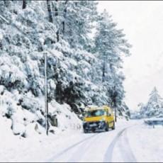 Le retour fracassant de l'hiver dans le centre de la Corse